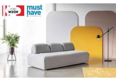 MIU MAGIC system modułowy sofa + 3 oparcia krótkie