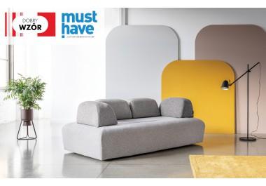 MIU MAGIC system modułowy sofa + 4 oparcia krótkie